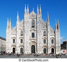 cattedrale, milano, (dome, duomo)
