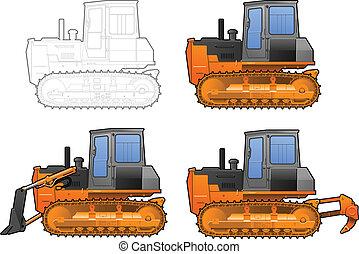 catterpillar, traktor