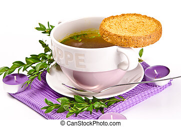 Cattle broth