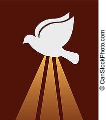 cattolico, religione, disegno