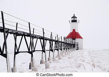 Catwalk to St. Joseph Pierhead