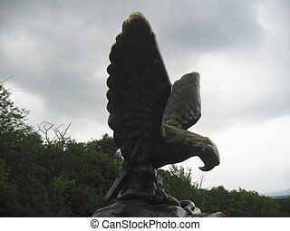 caucase, eagle., nord, pyatigorsk, repères, emblems.