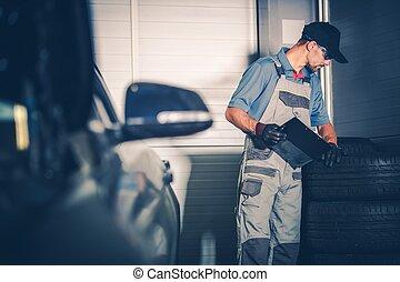 Car Service Worker