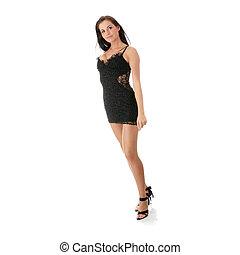 Caucasian Club Girl