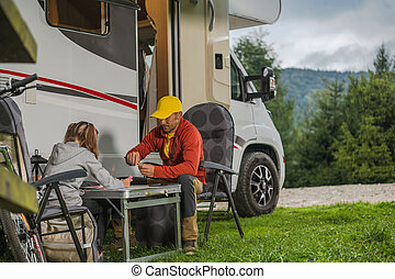 Family RV Park Camping