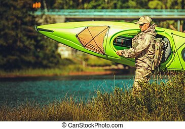 Preparing For a Kayak Trip