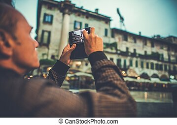 Taking Pictures of Verona