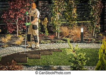 New Garden Grass Turfs