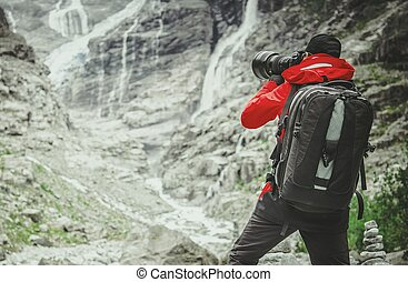 Photographer in the Field