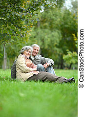 caucasiano, par ancião