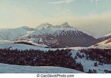 caucasus, berge