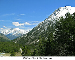 caucasus, bergen.