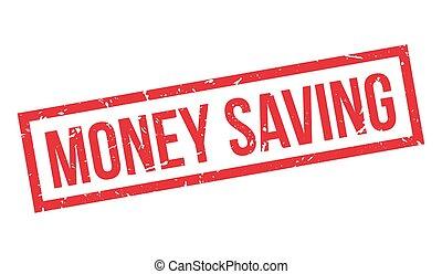 caucho, dinero, ahorro, estampilla