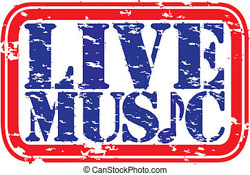 caucho, grunge, música viva, c/