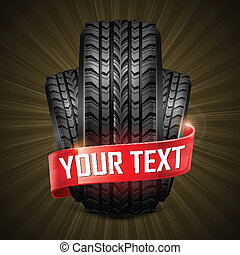 caucho, neumáticos