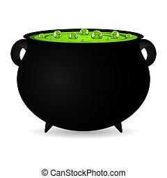cauldron, bruxas, poção
