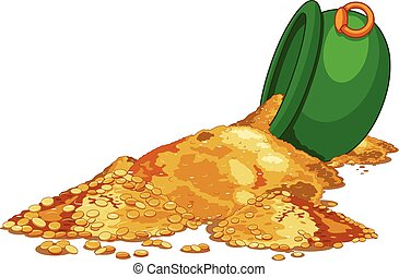 cauldron, de, ouro