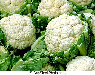 Cauliflower - Close up shot of cauliflower