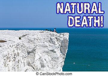 causes., naturel, nature, texte, projection, signe, cours, photo, conceptuel, death., produire