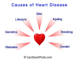 Causes of Heart Disease