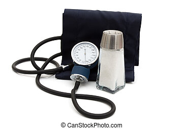Causes of high blood pressure - A blood pressure reading ...