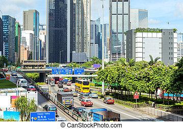 Hong Kong, China - Causeway Bay, Hong Kong, China
