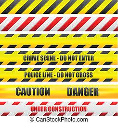 cautela, linhas