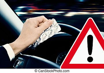 Caution! Dangerous Driving
