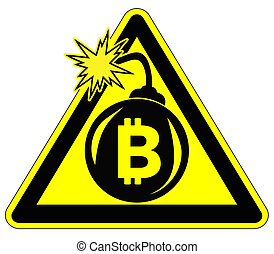 Caution Risky Bitcoin Investment.