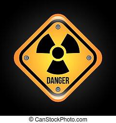 caution  signal design, vector illustration eps10 graphic