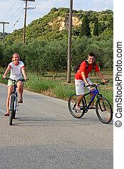 cavalcade, vélo