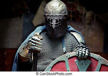 cavaleiro, medieval