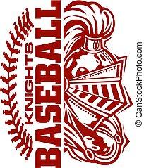 cavaleiros, basebol