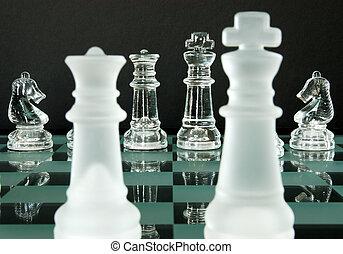 cavaleiros, rei, rainha, xadrez