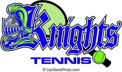 cavaleiros, tênis
