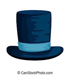 cavalheiro, chapéu superior, acessório