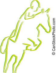 cavalier cheval