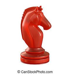 cavaliere, pezzo, scacchi