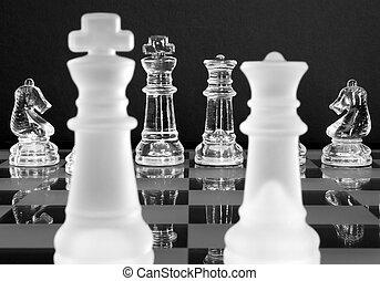 cavalieri, re, regina, scacchi