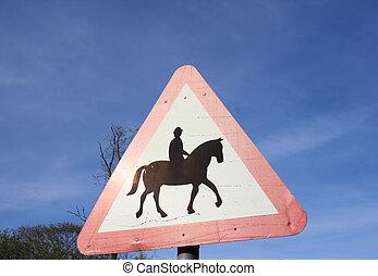 cavaliers cheval, signe