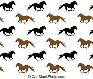 cavalli, correndo