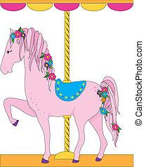 cavallo, carosello