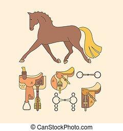 cavallo, elementi