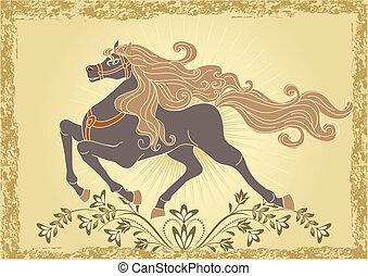 cavallo, fondo