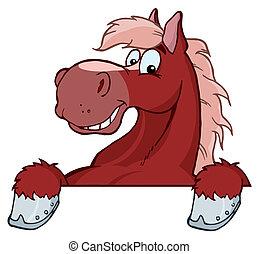 cavallo rosso