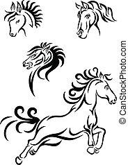 cavallo, tribale