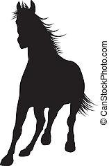 cavalo, vetorial