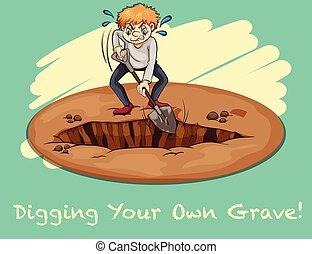 cavando