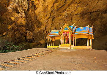 cave and pavilion asia thailand