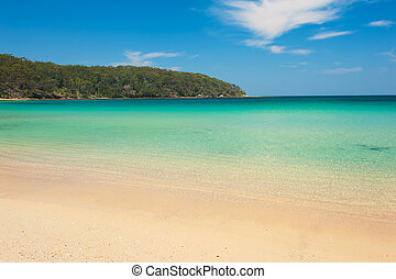 Cave Beach in Australia